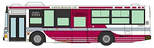 全国バスコレクション JB049 関東バス 三菱ふそうエアロスター ノンステップバス ジオラマ用品