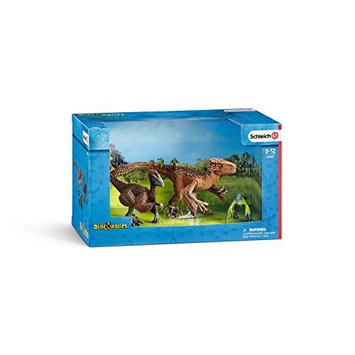 シュライヒ 恐竜 羽毛恐竜セット フィギュア 42347