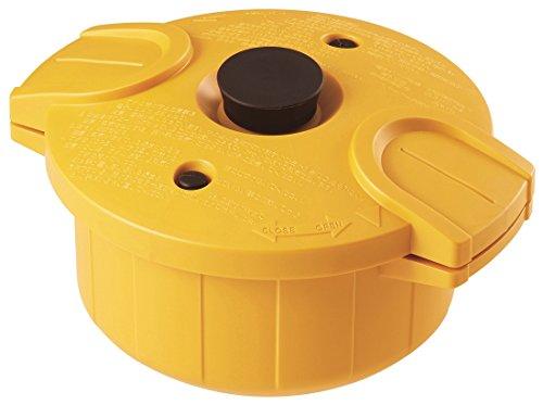 pos.239571 MWP1 電子レンジ圧力鍋 極み味 日本製 イエロー