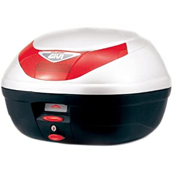 GIVI(ジビ)【イタリアブランド】 モノロックケース(トップケース/リアボックス) パールホワイト E350B906D 68041 高性能&スタイリッシュデザイン