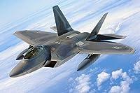 F-22ラプターファイタージェットジャイアントポスター - A5 A4 A3 A2 A1 A0サイズ