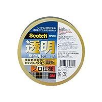 透明梱包用テープ(強粘着・高強度タイプ) 48mm×50m テープのみ 品番:375SN 注文番号:60883742 メーカー:スリーエム ジャパン