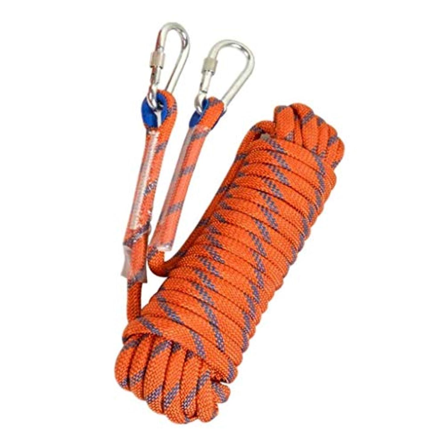 見るブラウズおいしいロッククライミングロープメーター、屋外火災エスケープ救助パラシュート静的屋内ロープ、ヘビーデューティロープ、安全耐久性のある高品質