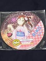 桜内梨子 浴衣 コースター セガコラボカフェ ラブライブ サンシャイン