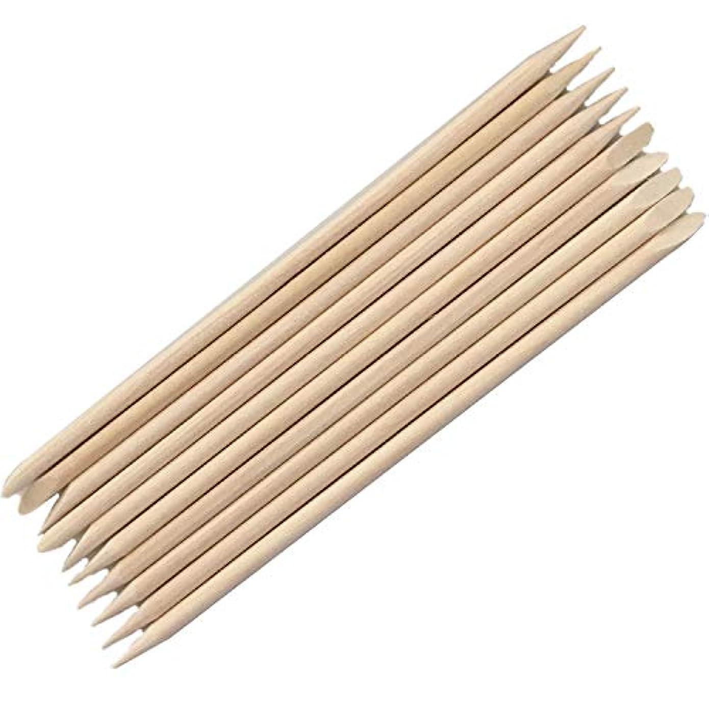 協力風邪をひくつづりネイル最高品質オレンジウッドスティック ネイル用品 ペンセット アクリル絵具10本