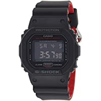 GSHOCK Men's Automatic Wrist Watch digital Display and Resin Strap, DW5600HR-1A