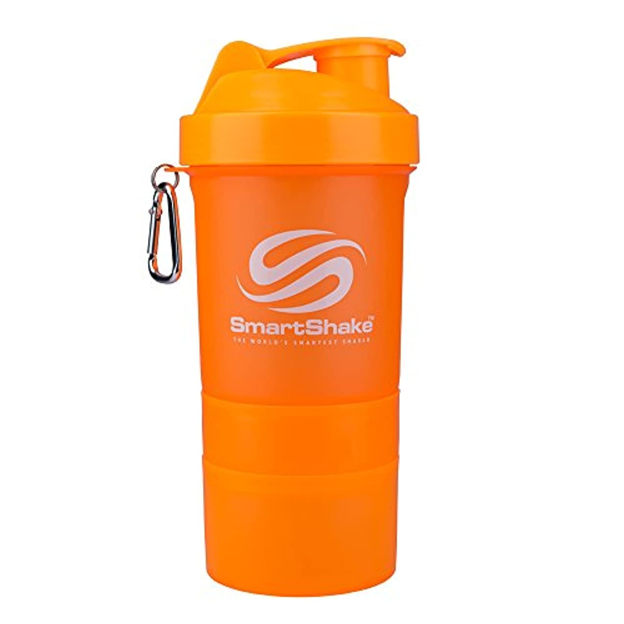 不十分高い軍艦SmartShake 600ml/ 20oz Neon Orange