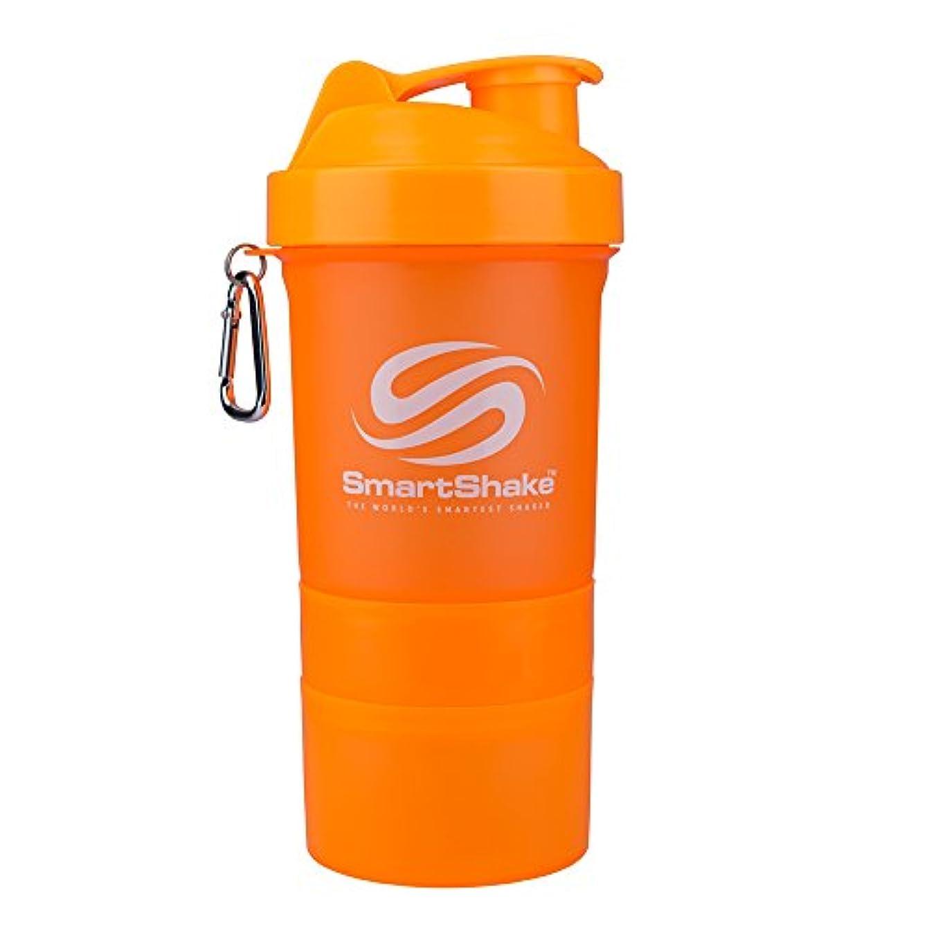 頭蓋骨根拠蛇行SmartShake 600ml/ 20oz Neon Orange