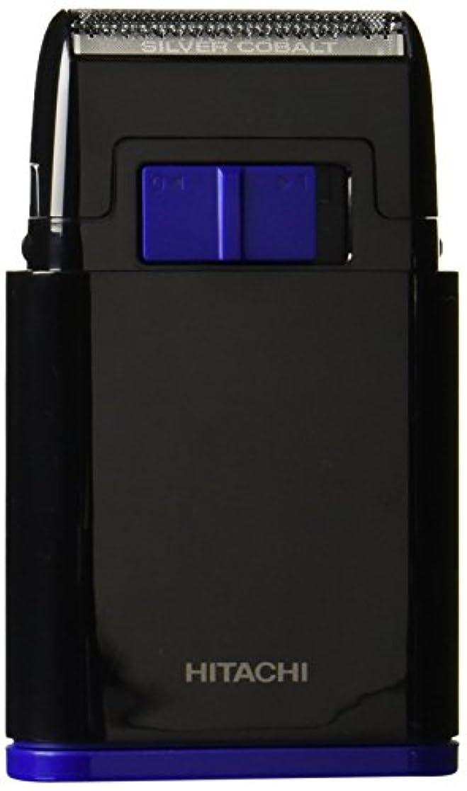 平衡鼓舞する鎮静剤日立 メンズシェーバー 乾電池式シェーバー 1枚刃 携帯用 ブラック BM-S10-B