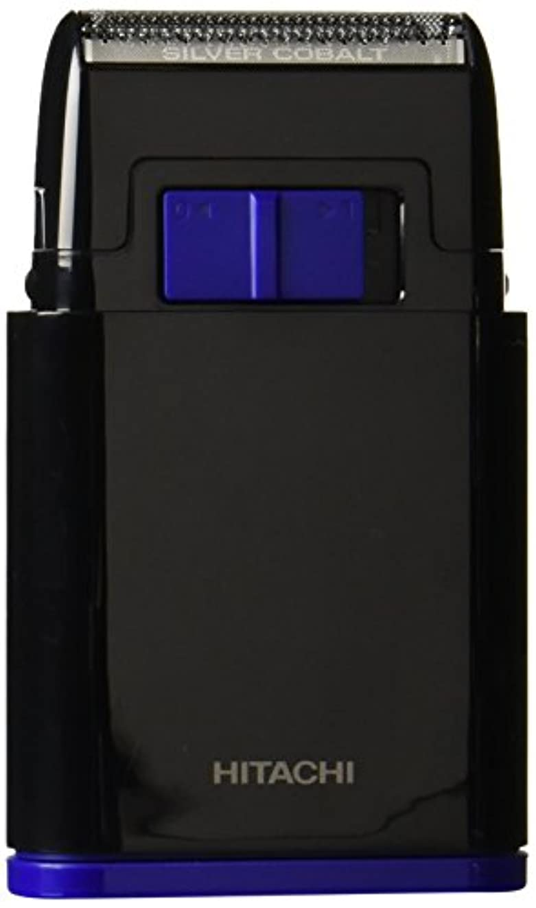 インキュバスデッドはげ日立 メンズシェーバー 乾電池式シェーバー 1枚刃 携帯用 ブラック BM-S10-B