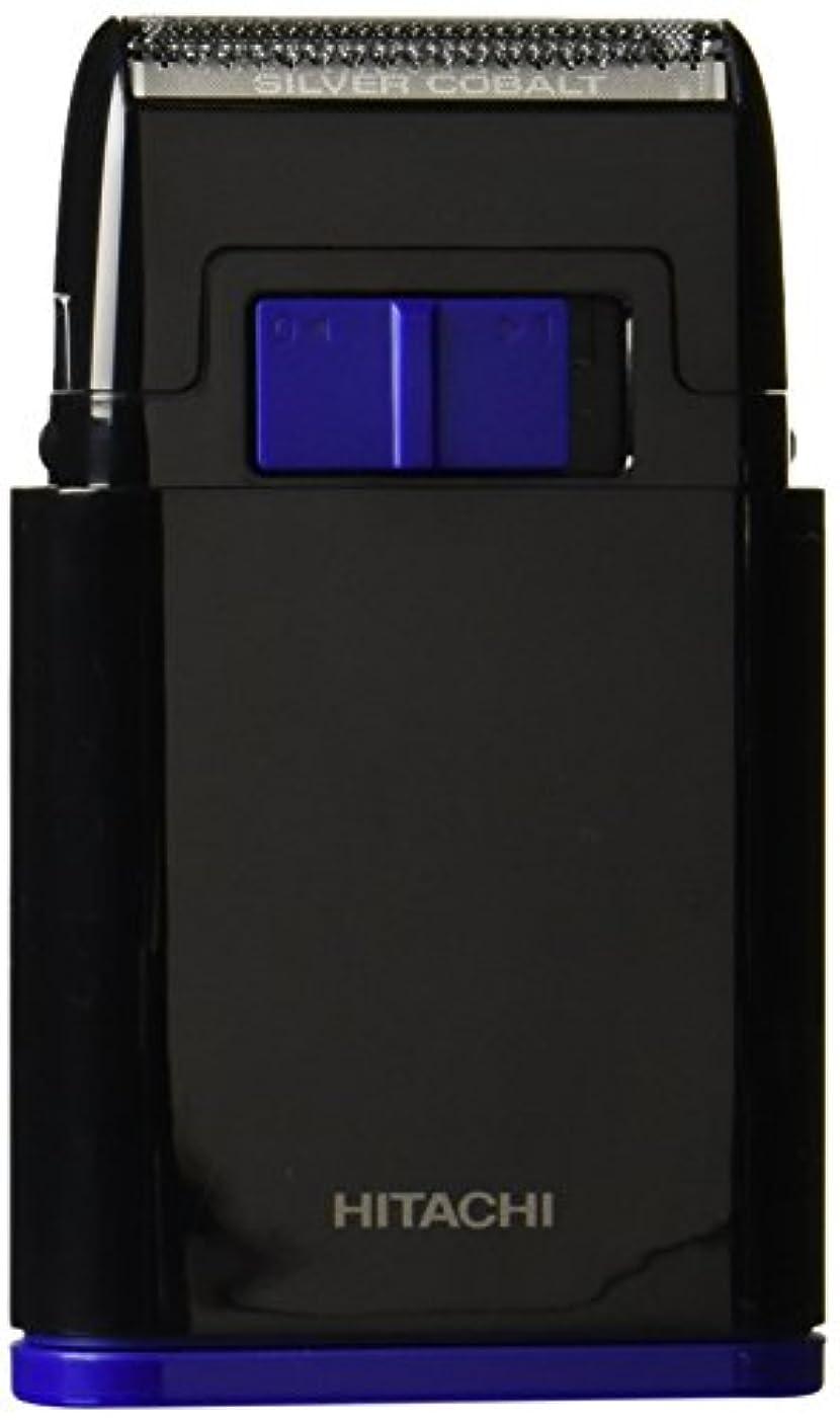値するレベル平らな日立 メンズシェーバー 乾電池式シェーバー 1枚刃 携帯用 ブラック BM-S10-B