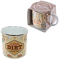 Enamel Mug - A Little Dirt Never Hurt