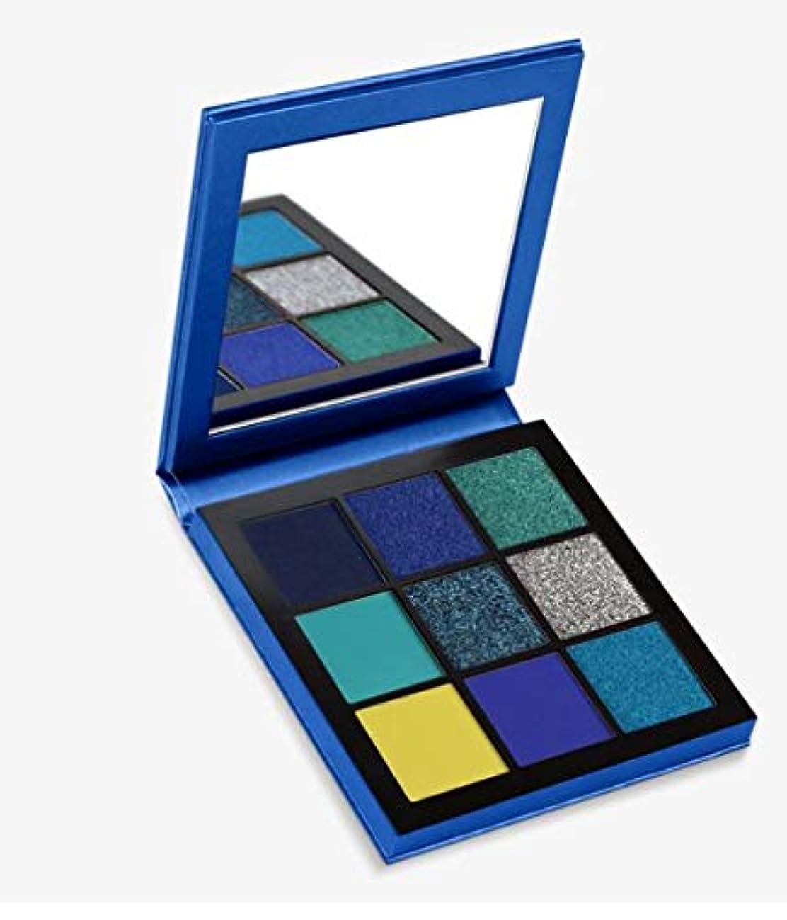 コンクリート濃度許すHudabeauty Obsessions Eyeshadow Palette Sapphire アイシャドウパレット