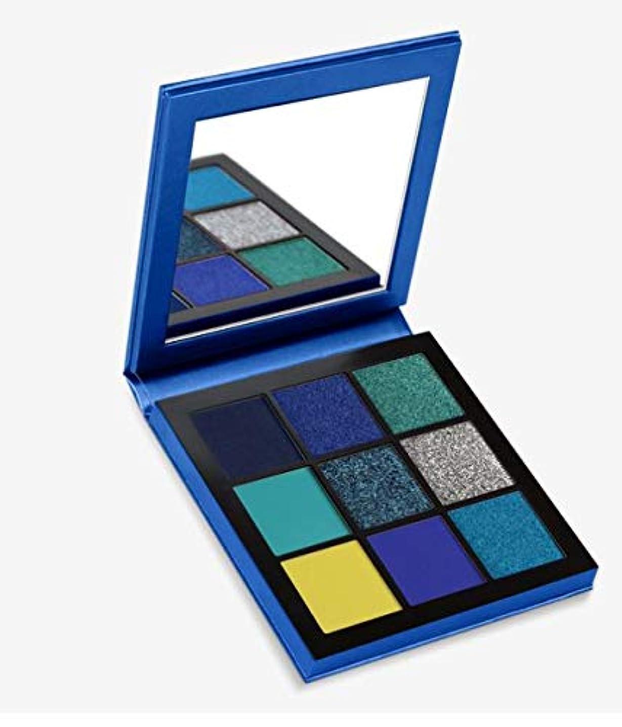 ホイールモニターブラインドHudabeauty Obsessions Eyeshadow Palette Sapphire アイシャドウパレット