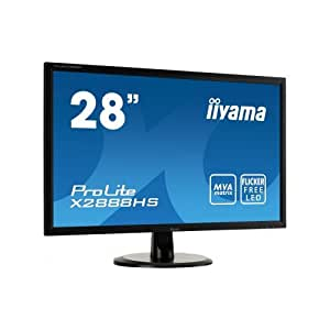 iiyama ディスプレイ モニター X2888HS-B1 28インチ/フルHD/MVAパネル/HDMI端子付