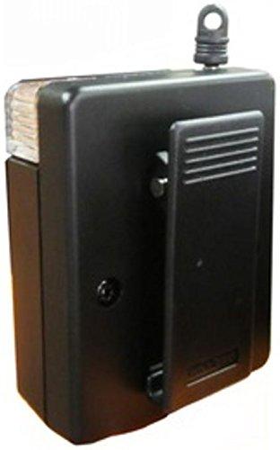 防犯ブザー <130db 大音量アラーム ライト機能 スキマスイッチ機能> 携帯 玄関置き 防犯ベル [72X59×27mm]【弁天インテリア】
