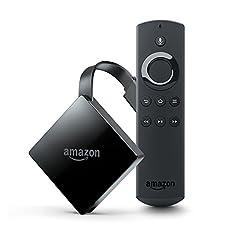 Fire TV  (New モデル) 4K・HDR 対応、音声認識リモコン付属