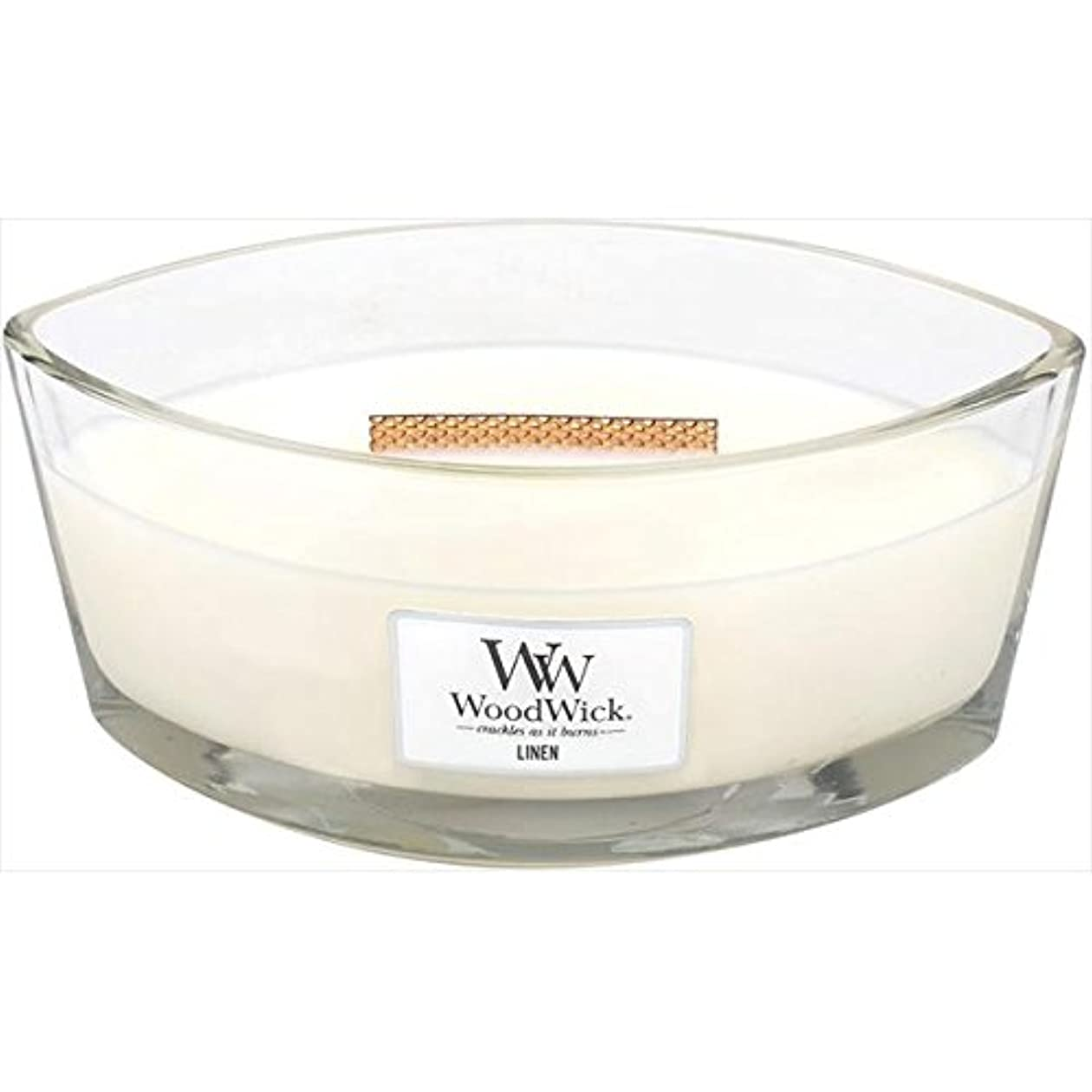 検体環境皮肉Wood Wick(ウッドウィック):ハースウィックL リネン WW940053012