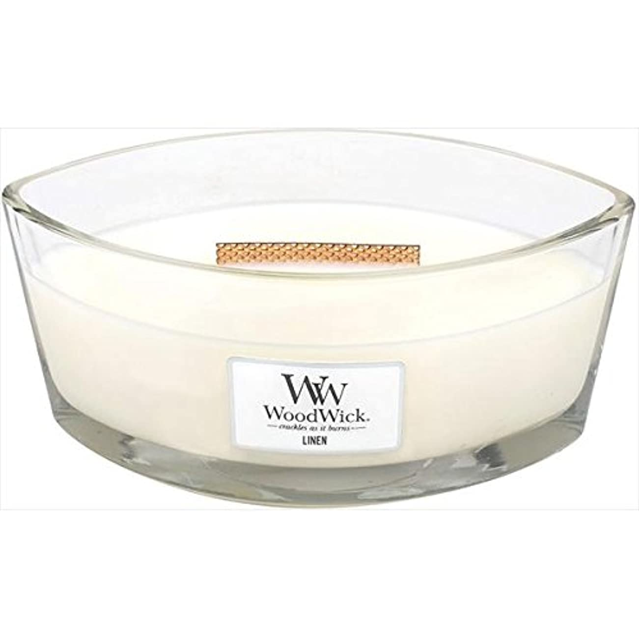 Wood Wick(ウッドウィック):ハースウィックL リネン WW940053012
