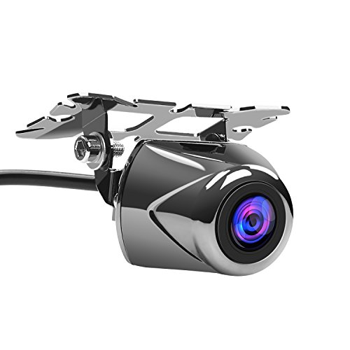 APEMAN バックカメラ リアビューカメラ 車載カメラ IP67 防水カメラ 夜視可能 フロント/バックカメラ兼用 角度調整可能 日本語説明書付属