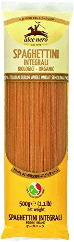 ALCE NERO(アルチェネロ)有機全粒粉スパゲッティーニ 500g