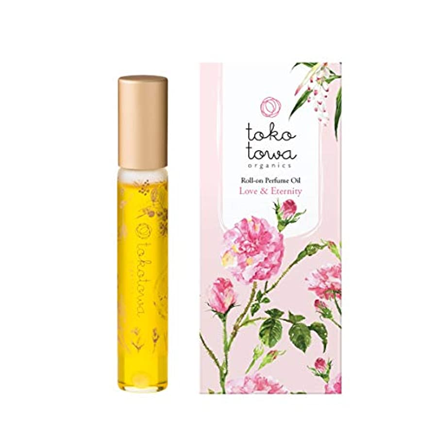 tokotowa organics ロールオンパフュームオイル ピンク
