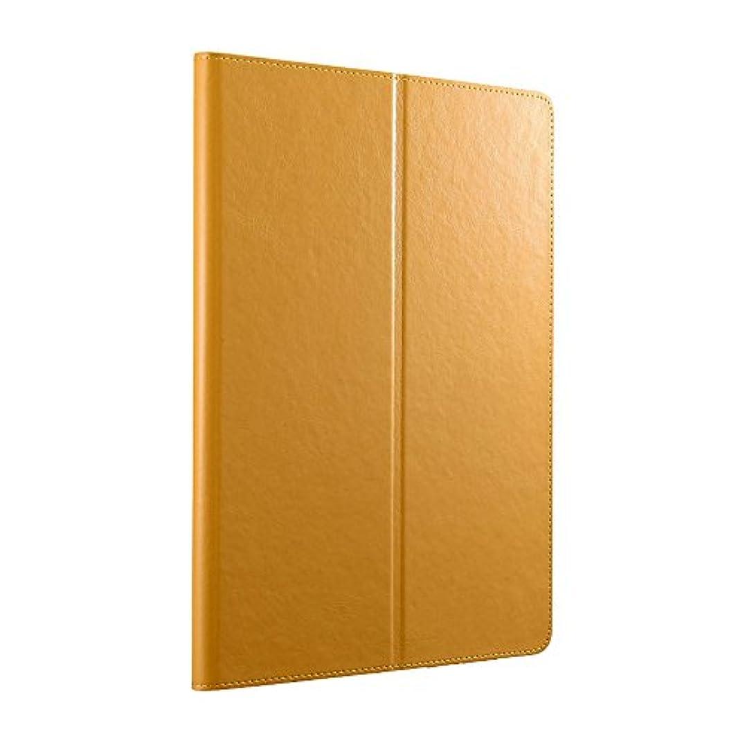 議題委任毛皮iBUFFALO 9.7インチ iPad Pro用 レザーケースマルチアングル オレンジ BSIPD16CLMOR