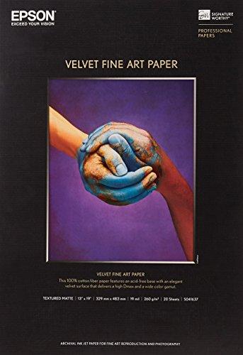 エプソン Velvet Fine Art Paper KA3N20VFA 1箱(20枚)