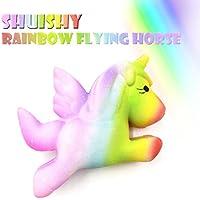 cinhent Toys 2018新しくRainbow Horse Slow Rising Cartoon動物パズルおもちゃ人気ギフトself-owned特許