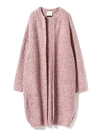 (デミルクス ビームス) Demi-Luxe BEAMS セーター ブークレ ロング カーディガン レディース ONE SIZE ピンク