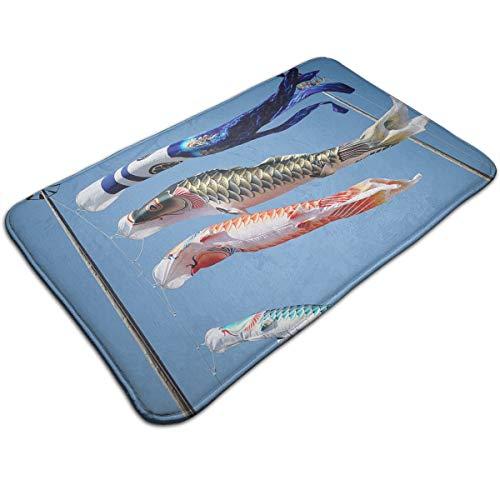 MALA BALI 鯉のぼり ラグ カーペット 玄関マット ...