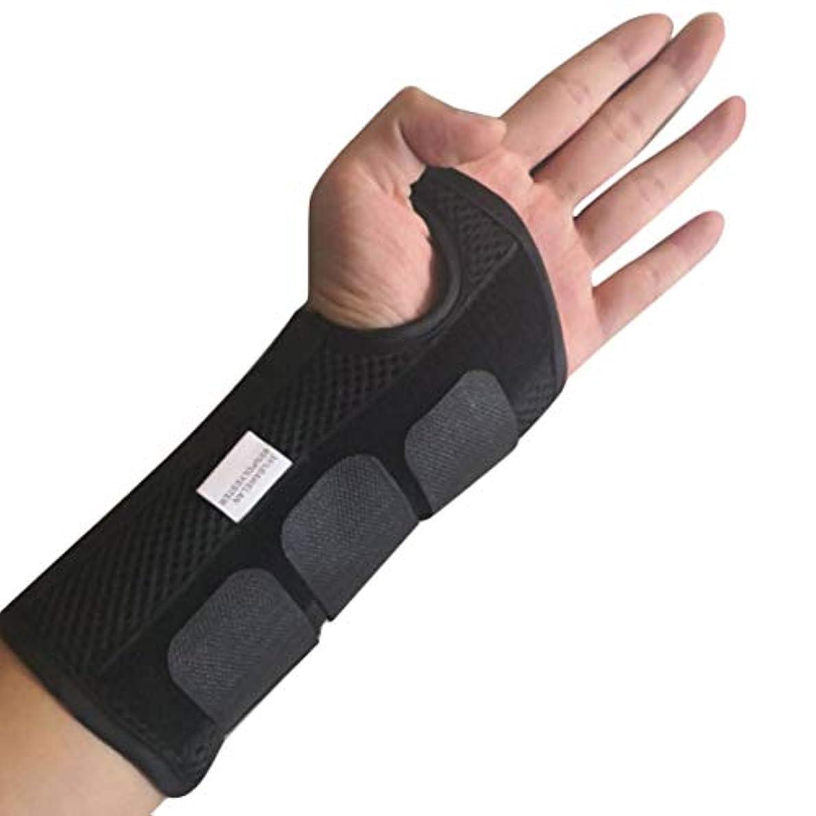 ランドリー何感覚Tivollyff 手根管医療手首関節サポートブレースサポートパッド捻挫前腕副木用バンドストラップ保護安全な手首サポート