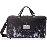 DKNY DO920GL8 Glimmer Collection Duffle Bag, Black, 45.7 Centimeters