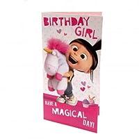 Despicable Me Agnes Birthday Card Girl/怪盗グルーの月泥棒アグネスバースデーカードガール