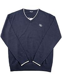 0c51d315d68f8 ドゥーカス DOCUS Vネックセーター(DOCUS DESIGN) メンズ ゴルフウェア DCM18A002