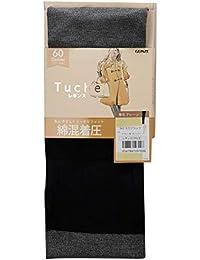 [グンゼ]レギンス Tuche 綿混着圧 60d レディース