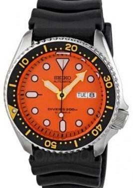 [セイコー] SEIKO 腕時計 ダイバーズ 自動巻き 海外モデル オレンジ SKX011J1 メンズ [逆輸入品]