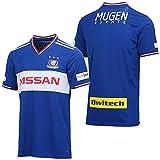 J1 ユニフォーム 半袖 横浜F マリノス ブルー 2019 メンズ tシャツ サッカー レプリカ ファン制服 印刷可能 XL