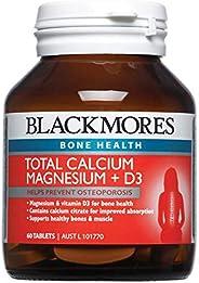 Blackmores Total Calcium + Magnesium + D3 (60 Tablets)