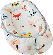 Newborn Baby Nest - Easy to Move, Ideal for Co-Sleeping, Breathable and Soft, 100% Cotton and Eco-Friendly (An