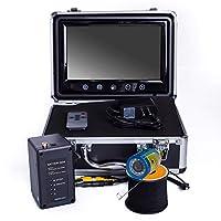 9インチ水中魚群探知機HD水中カメラTFTカラーディスプレイCCDとHD 1000TVLカメラ(15M)