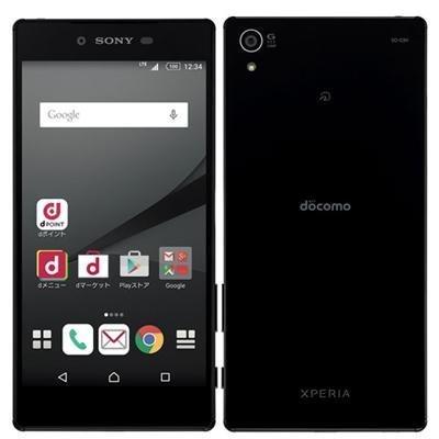 SONY docomo Xperia Z5 Premium SO-03H Black