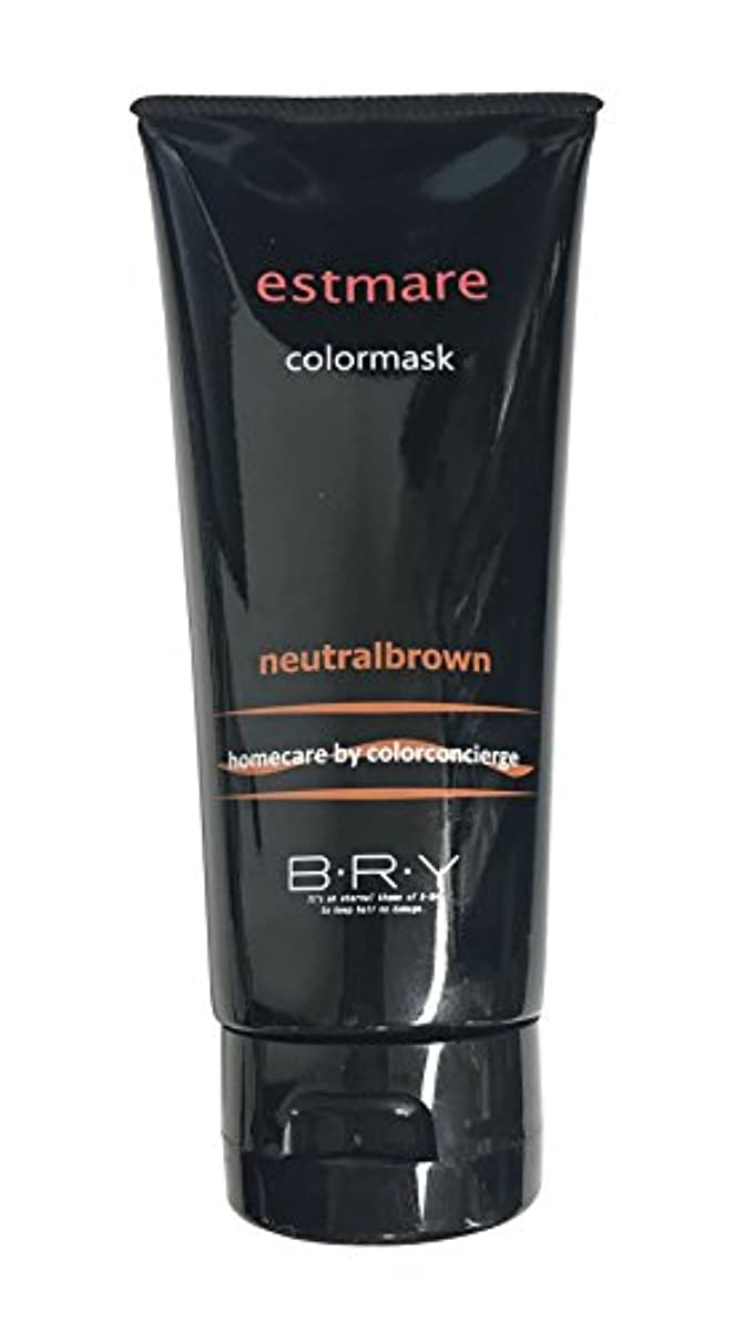 予測子コンプライアンスかなりのBRY(ブライ) エストマーレ カラーマスク Neutralbrown ニュートラルブラウン 200g