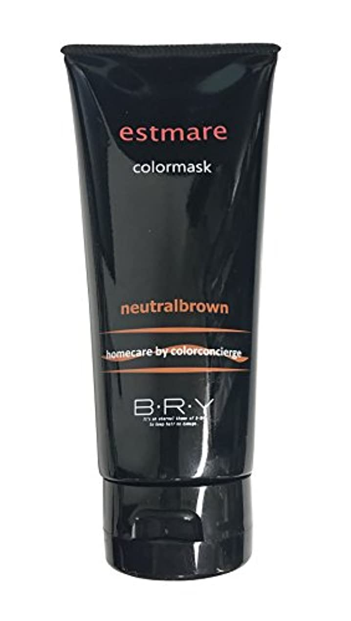 まろやかな英語の授業がありますアイスクリームBRY(ブライ) エストマーレ カラーマスク Neutralbrown ニュートラルブラウン 200g