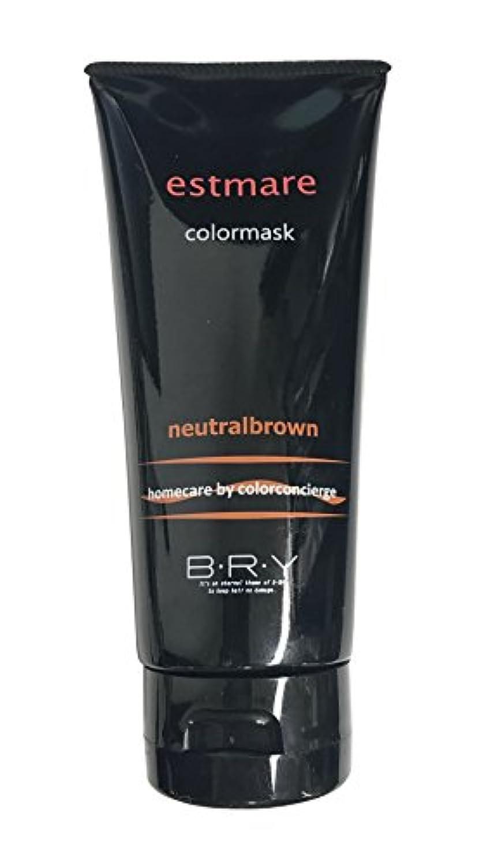 クモ側一般的にBRY(ブライ) エストマーレ カラーマスク Neutralbrown ニュートラルブラウン 200g