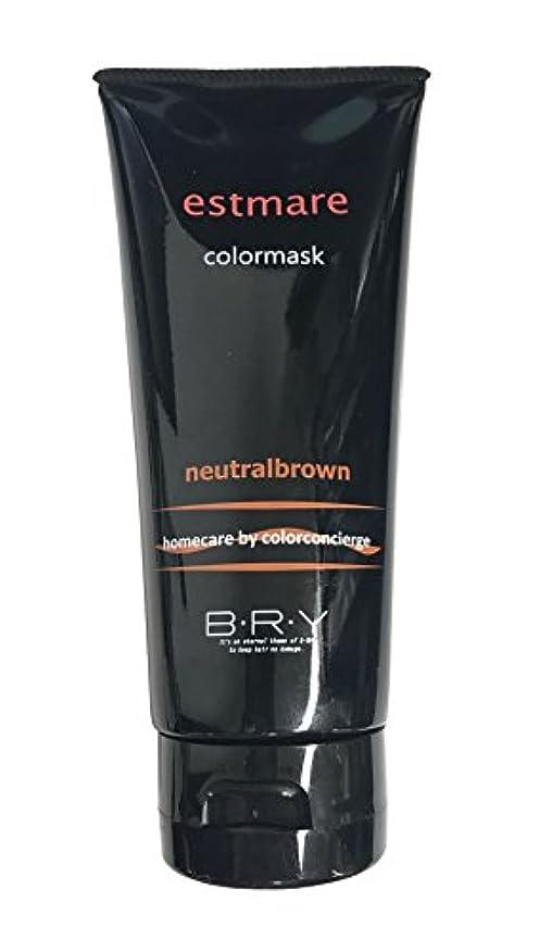 カウント気難しいオアシスBRY(ブライ) エストマーレ カラーマスク Neutralbrown ニュートラルブラウン 200g
