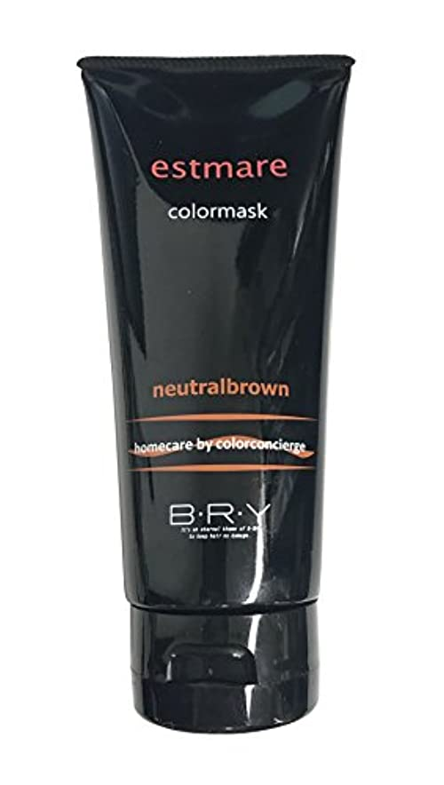 服を洗う理解する対BRY(ブライ) エストマーレ カラーマスク Neutralbrown ニュートラルブラウン 200g