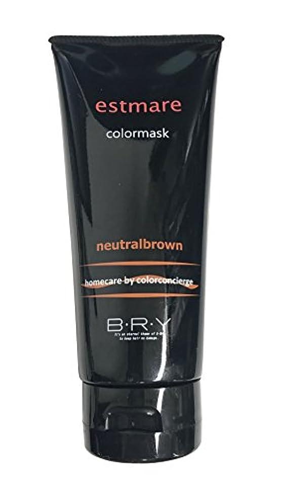来てとげのある高架BRY(ブライ) エストマーレ カラーマスク Neutralbrown ニュートラルブラウン 200g