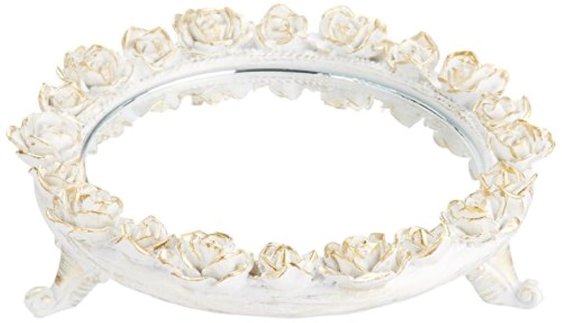 ホスト翻訳者頭蓋骨茶谷産業 White Rose Collection ミラートレー 350-803