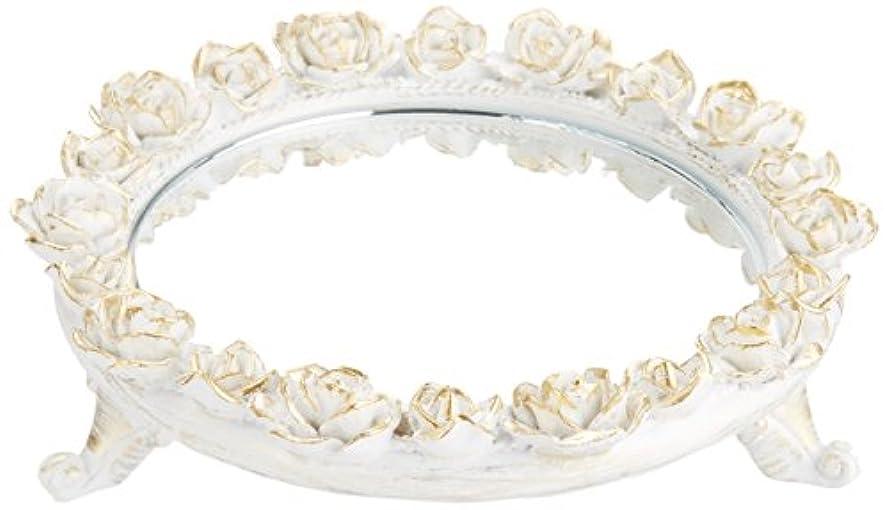 特権的等しい状況茶谷産業 White Rose Collection ミラートレー 350-803
